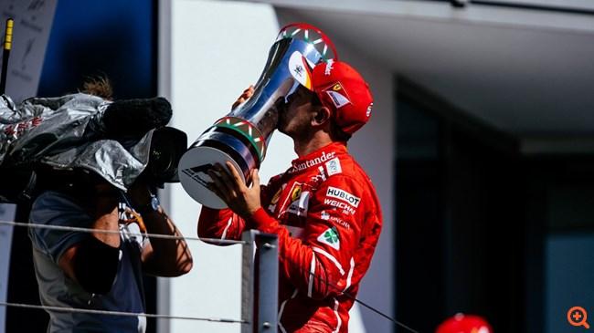 F1 : O Sebastian Vettel πέρνει προβάδισμα