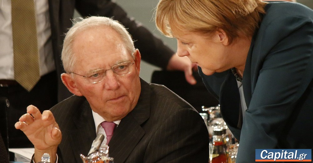 Γερμανία: Ο Σόιμπλε καταλογίζει στη Μέρκελ ευθύνες για τα προβλήματα του CDU