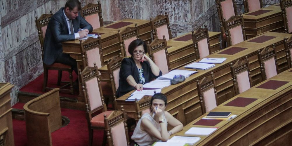 Τροπολογίες στο πάρα πέντε- Ούτε η υπουργός δεν τις γνωρίζει