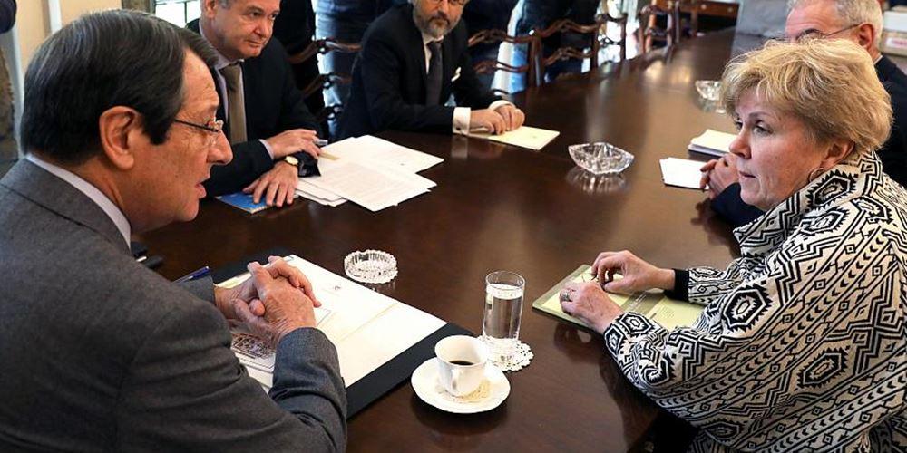 Ν. Αναστασιάδης: Οι παραβιάσεις στην ΑΟΖ δεν επιτρέπουν επανέναρξη διαλόγου