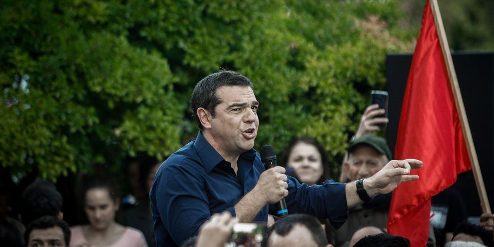 Στο Σύνταγμα η κεντρική προεκλογική συγκέντρωση του ΣΥΡΙΖΑ αύριο Παρασκευή