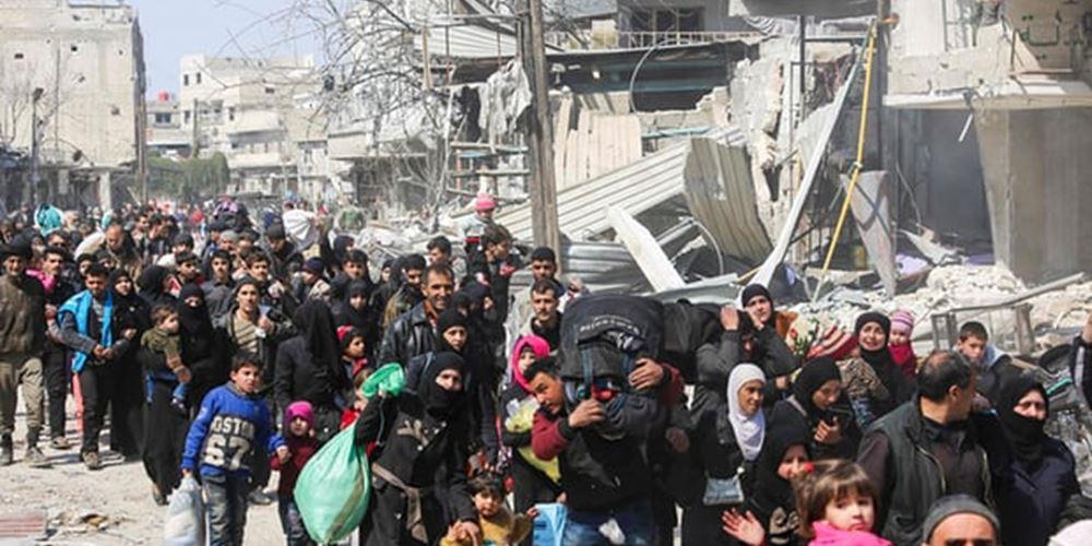 Συρία: Επιστροφή 937 προσφύγων από τον Λίβανο και την Ιορδανία