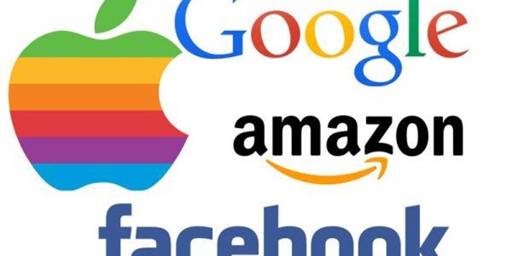 Στο απόσπασμα των ΗΠΑ οι Apple, Amazon, Google και Facebook