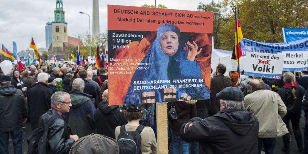 Γερμανία: Αύξηση 20% εγκλημάτων ξενοφοβικής και αντισημιτικής φύσης
