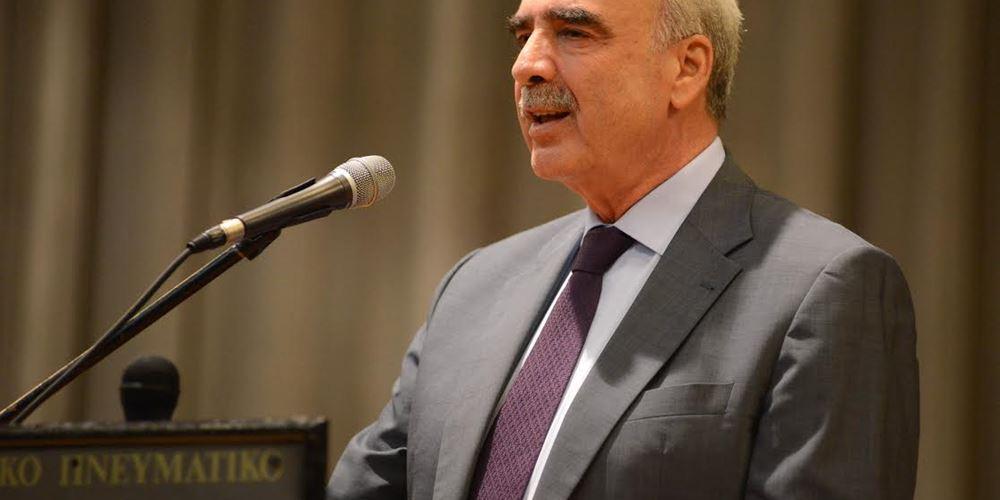 Β. Μεϊμαράκης: Λάθος του κ. Τσίπρα να σηκώνει τόσο ψηλά το θέμα με τον κ. Βέμπερ