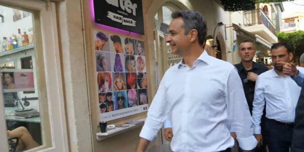 Η ατάκα που όρισε την περιοδεία Μητσοτάκη στην Κρήτη