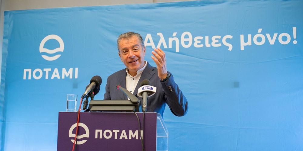 Στ. Θεοδωράκης: Το Ποτάμι θα είναι η θετική έκπληξη των ευρωεκλογών