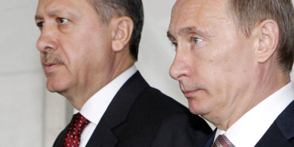 Το ένστικτο αυτοσυντήρησης οδηγεί τον Erdogan στον Putin