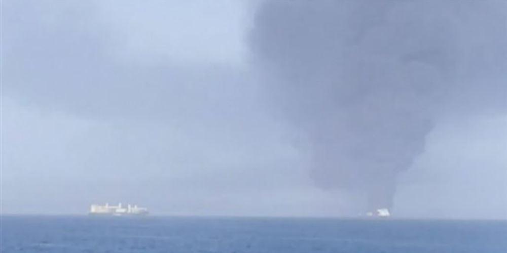 Επιθέσεις σε δύο δεξαμενόπλοια στον κόλπο του Ομάν