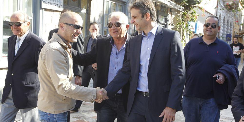 """Κ. Μητσοτάκης: Στόχος στις ευρωεκλογές να είναι όλη η Κρήτη """"γαλάζια"""""""
