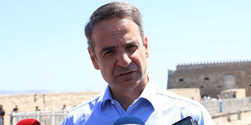 Παρακολουθήστε ζωντανά την κεντρική προεκλογική ομιλία του προέδρου της ΝΔ, Κυριάκου Μητσοτάκη, στην Αθήνα