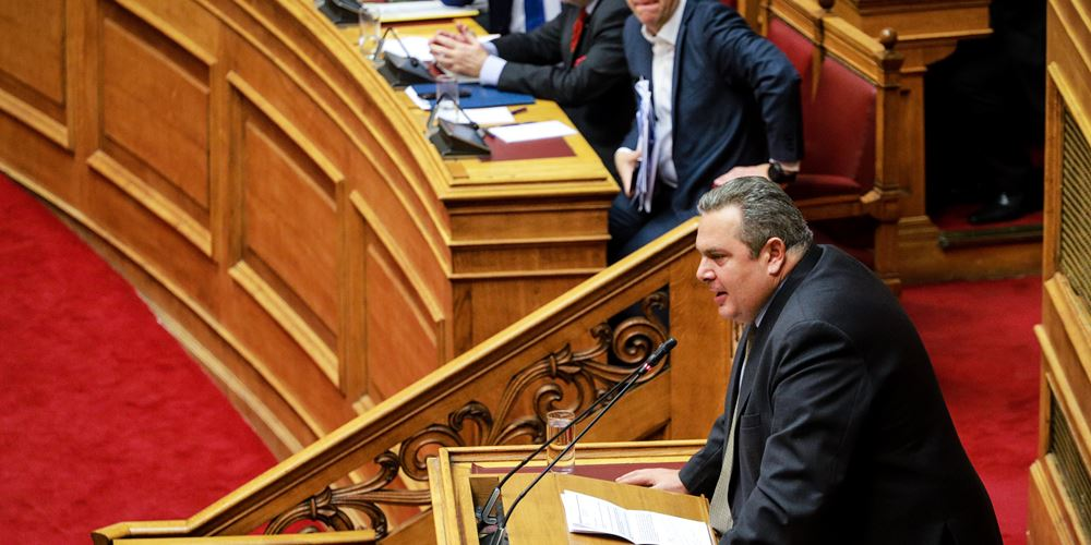 Π. Καμμένος: Οι βουλευτές των ΑΝΕΛ εξαγοράστηκαν με υπουργικούς θώκους