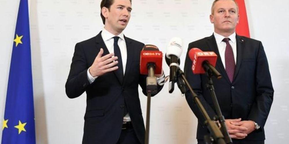 Αυστρία: Στις 27 Μαΐου θα εξεταστεί η πρόταση μομφής κατά του καγκελάριου Κουρτς