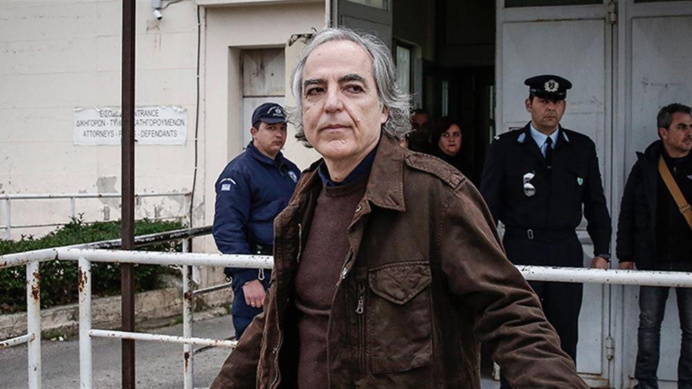 """Επίθεση Κουφοντίνα στους δικαστές: """"Ταξική και διατεταγμένη δικαιοσύνη"""""""