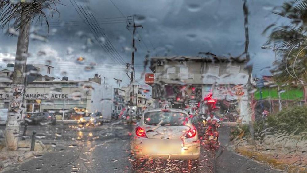Κυβερνητικό κλιμάκιο στην Κρήτη για την αποτίμηση των ζημιών από την κακοκαιρία