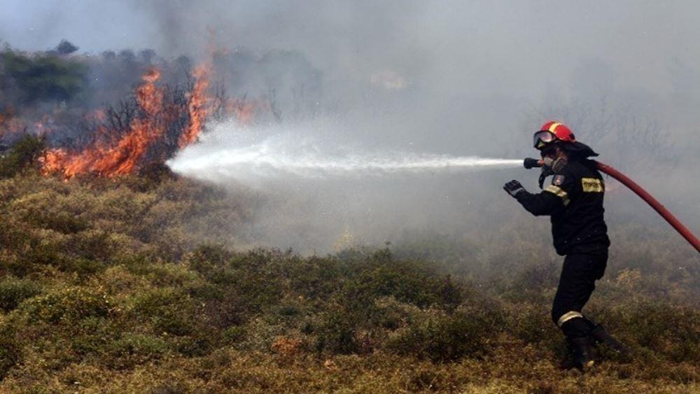 Κόρινθος: Σε εξέλιξη οι φωτιές στις περιοχές Νέα Αλμυρή Κορινθίας και Ασκληπιείο Αργολίδας