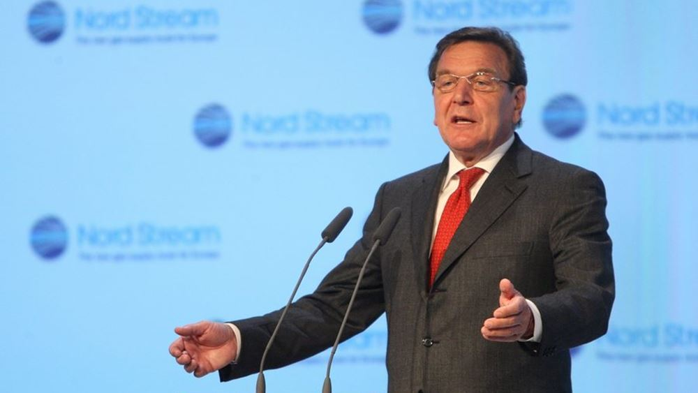 Ο πρώην Γερμανός καγκελάριος Σρέντερ προειδοποιεί την ΕΕ να μην παρασυρθεί σε έναν ψυχρό πόλεμο ΗΠΑ-Κίνας