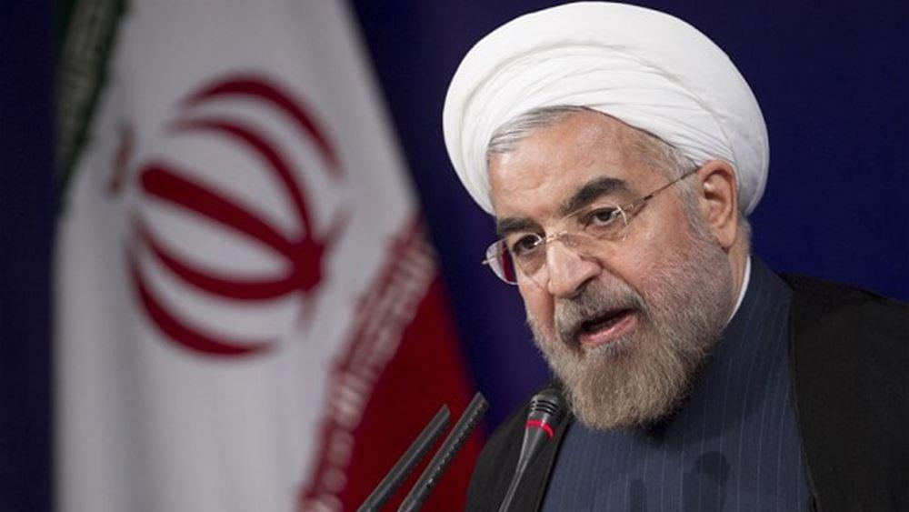 Rouhani: Θα συνεχίσουμε να κατασκευάζουμε πυραύλους