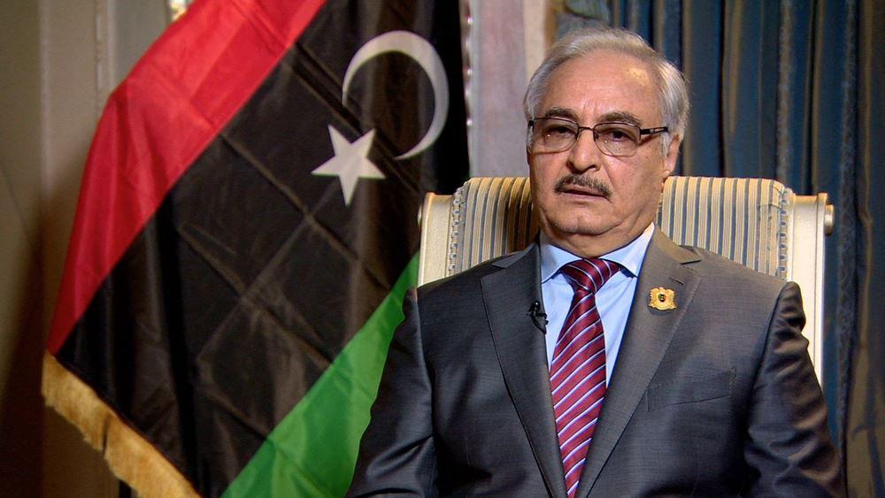 Λιβύη: Ο Χαφτάρ λέει πως ο στρατός αποφάσισε να επαναληφθεί η παραγωγή πετρελαίου