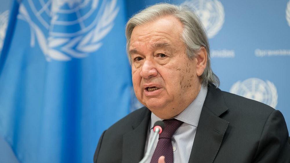 Αντ. Γκουτέρες (ΟΗΕ): Ας κάνουμε το 2021 ένα έτος θεραπείας