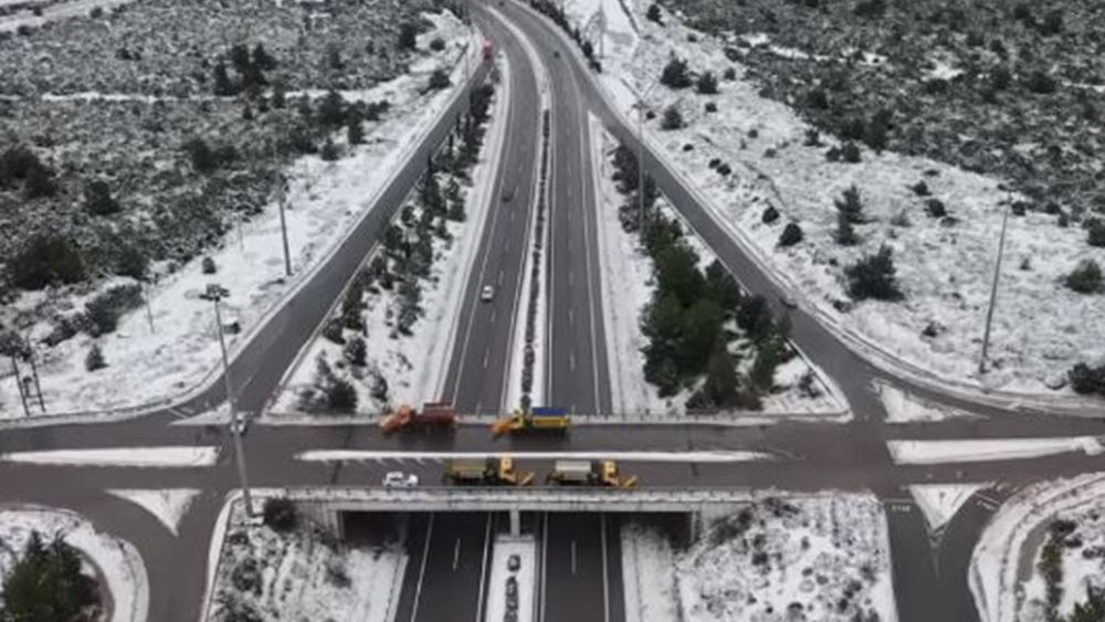 Δεν επιτρέπεται η κυκλοφορία φορτηγών άνω των 3,5 τόνων σε τμήμα της Αθηνών – Λαμίας