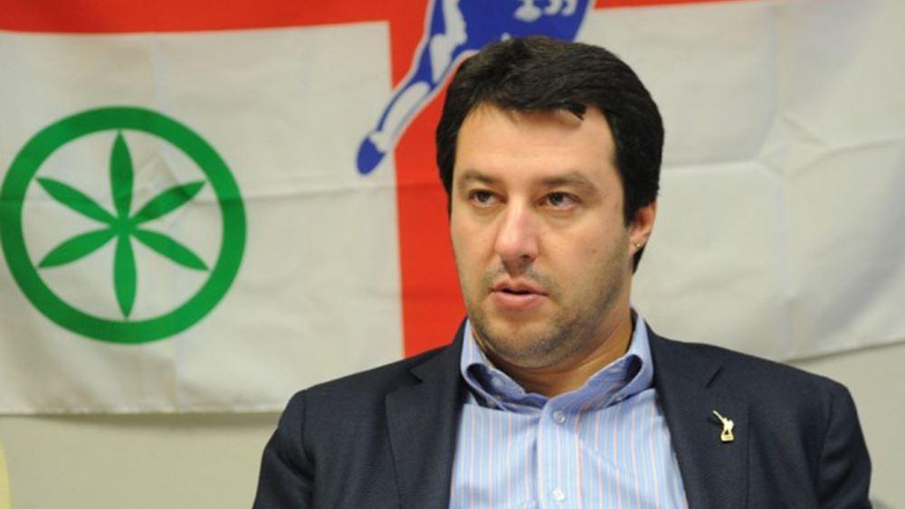 Σαλβίνι: Εργαζόμαστε για να φτιάξουμε μια σοβαρή και σταθερή κυβέρνηση, αλλά χρειαζόμαστε ακόμη χρόνο