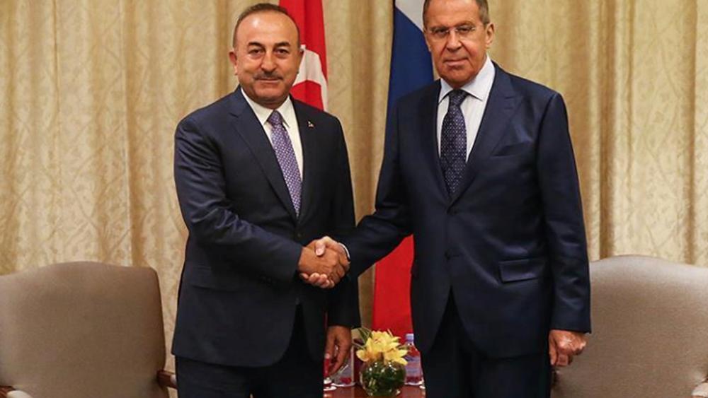 Λαβρόφ - Τσαβούσογλου: Η στρατιωτική συνεργασία θα συνεχιστεί, παρά τις αμερικανικές κυρώσεις