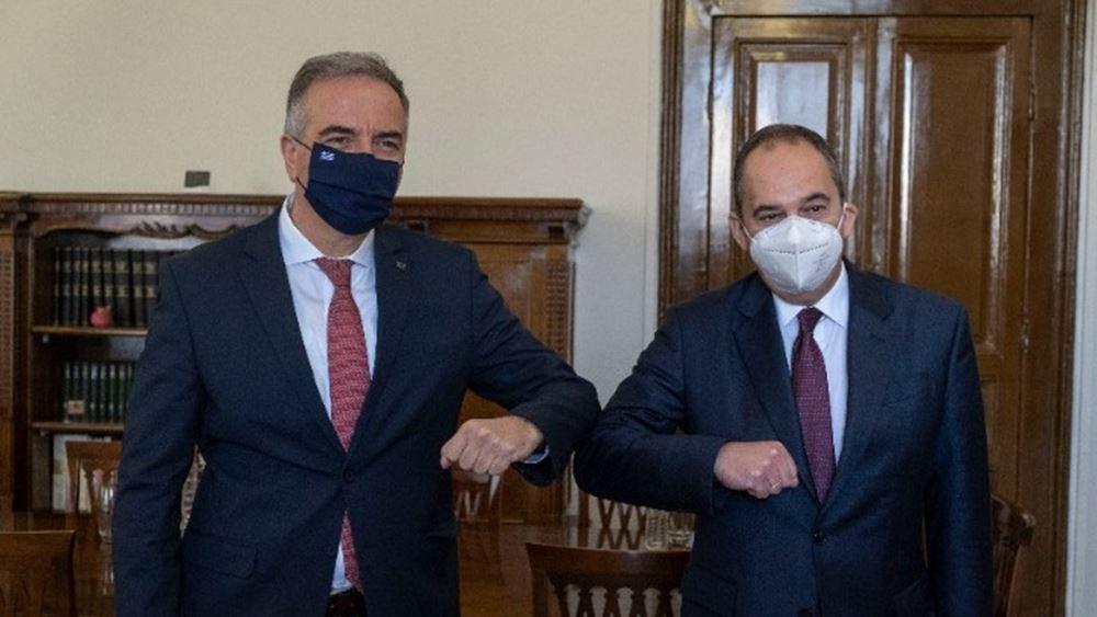 Την προκήρυξη μιας νέας επιδοτούμενης ακτοπλοϊκής γραμμής μεταξύ Θεσσαλονίκης - Σποράδων ανακοίνωσε οΓ.Πλακιωτάκης