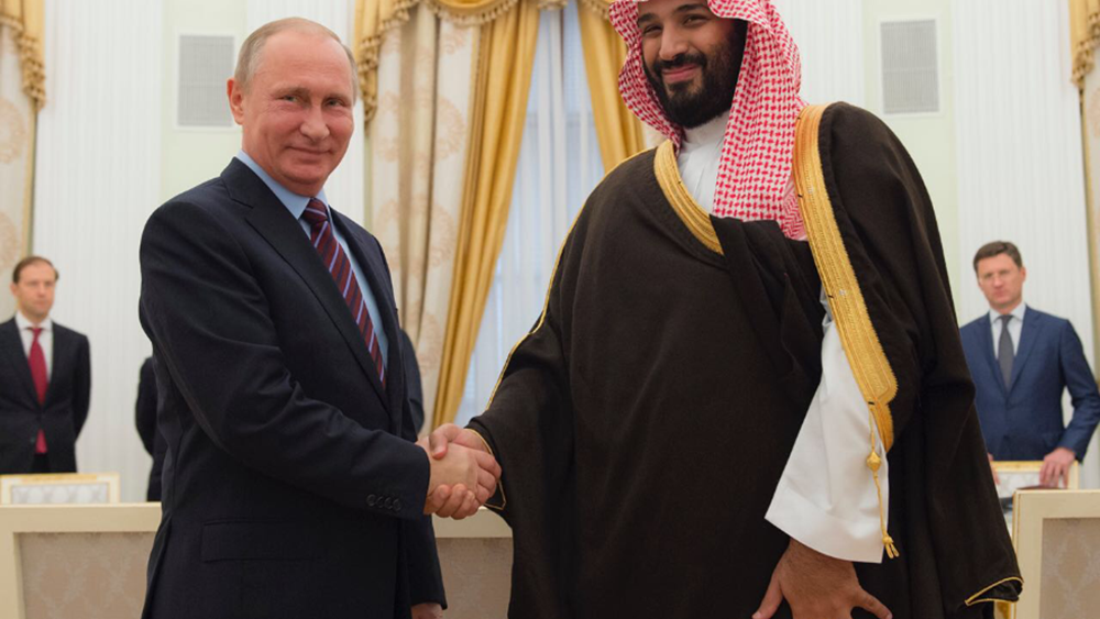 Ο Βλαντίμιρ Πούτιν επισκέπτεται το Ριάντ