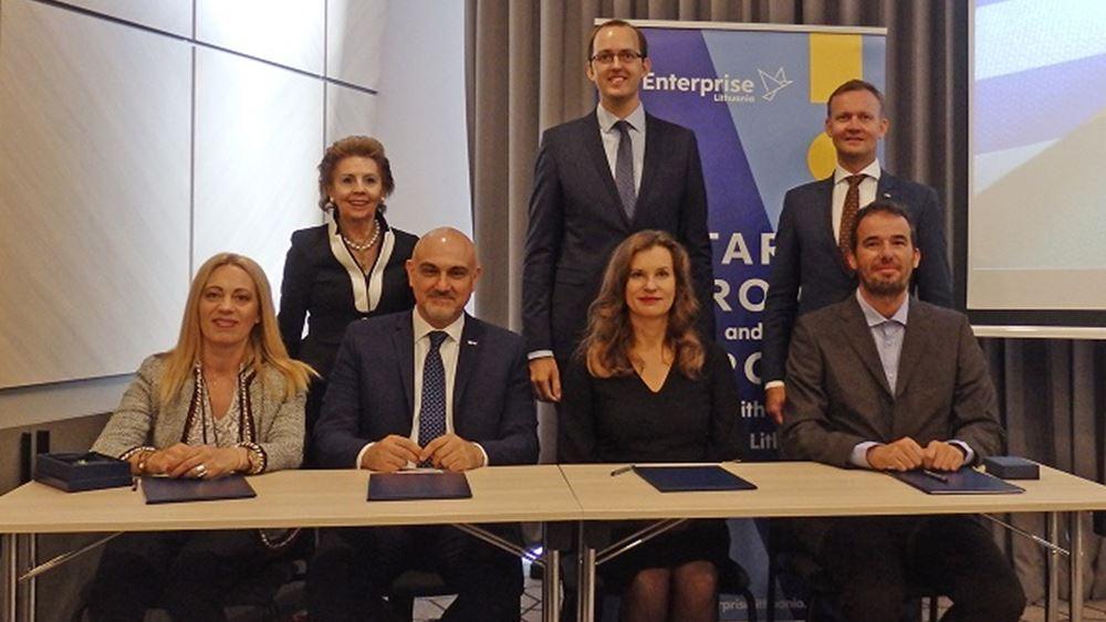 Επιχειρηματική αποστολή ΣΕΒ-ΕΒΕΑ-ΣΕΒΕ-Enterprise Greece στη Λιθουανία