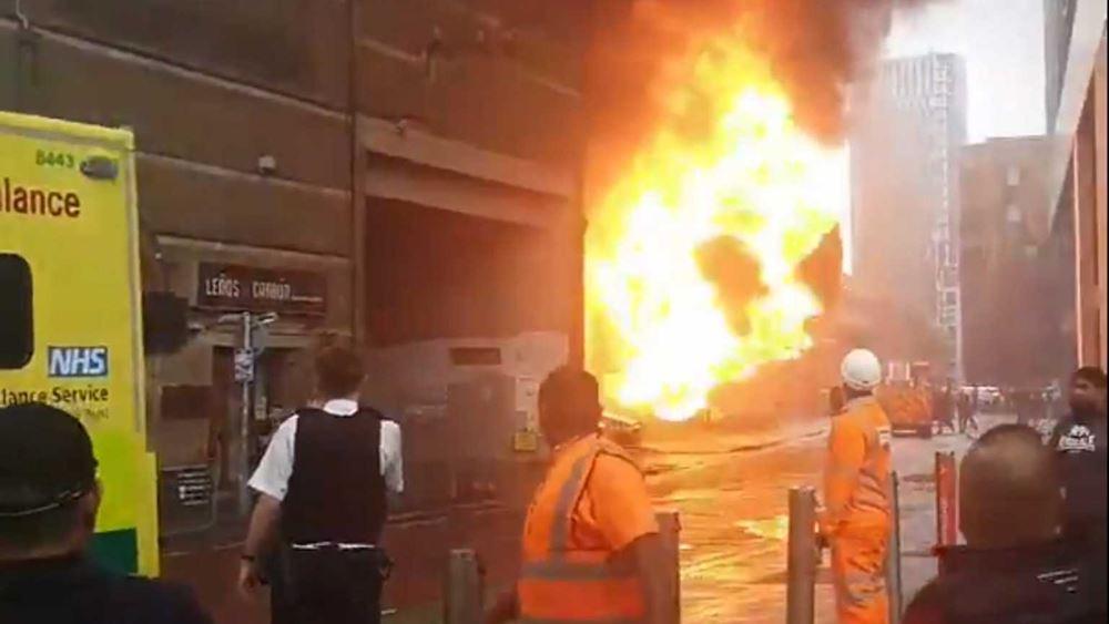 Υπό έλεγχο η μεγάλη πυρκαγιά στο Λονδίνο