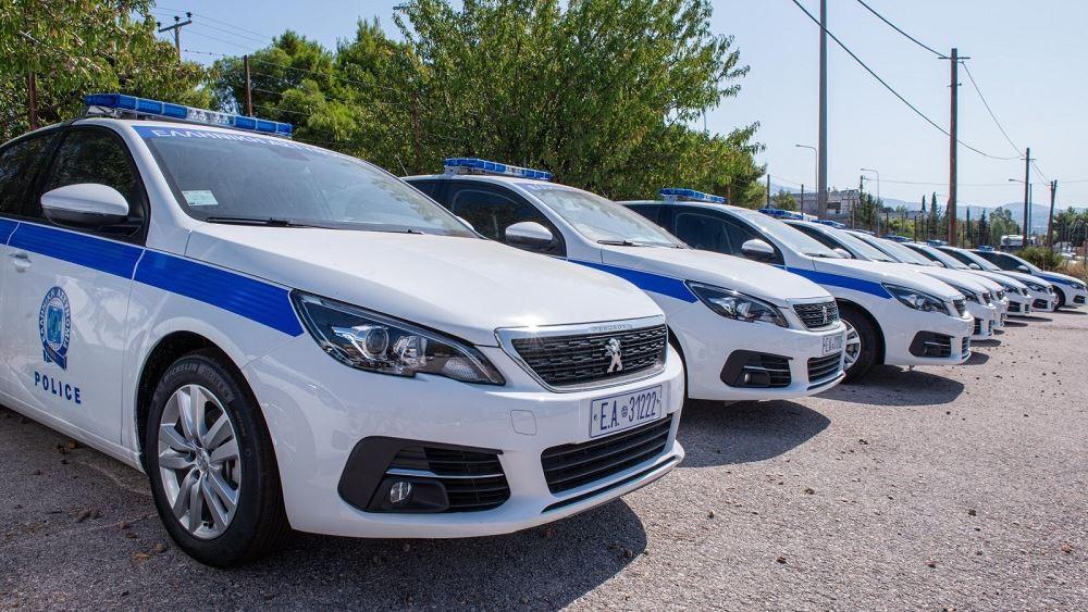 Επιπλέον 62 οχήματα στον στόλο της Ελληνικής Αστυνομίας