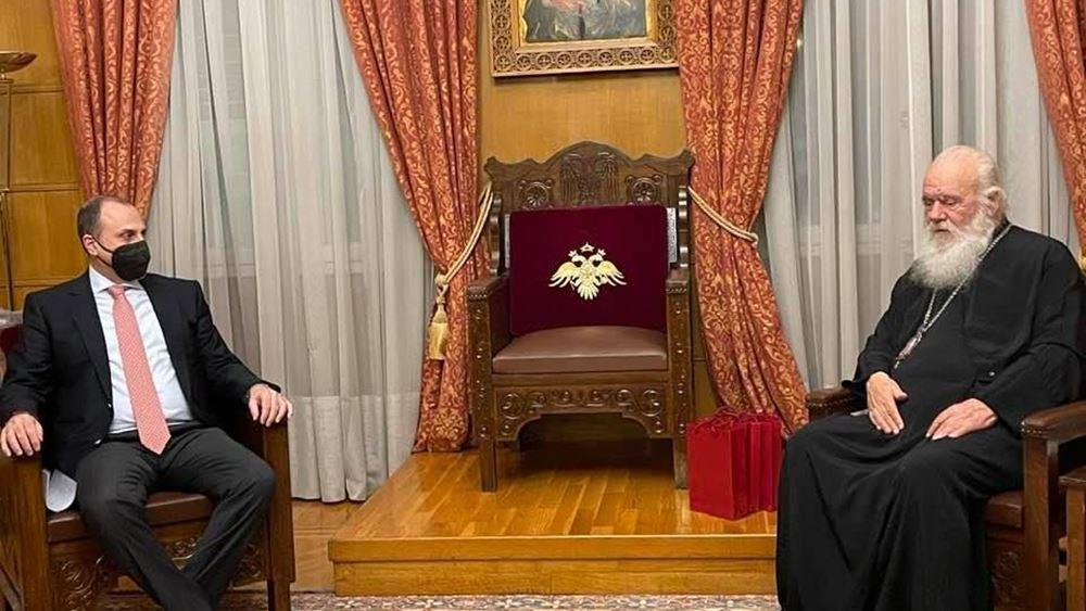 Γ. Καραγιάννης: Προχωρούν έργα 13 εκατ. ευρώ για την Αρχιεπισκοπή Αθηνών