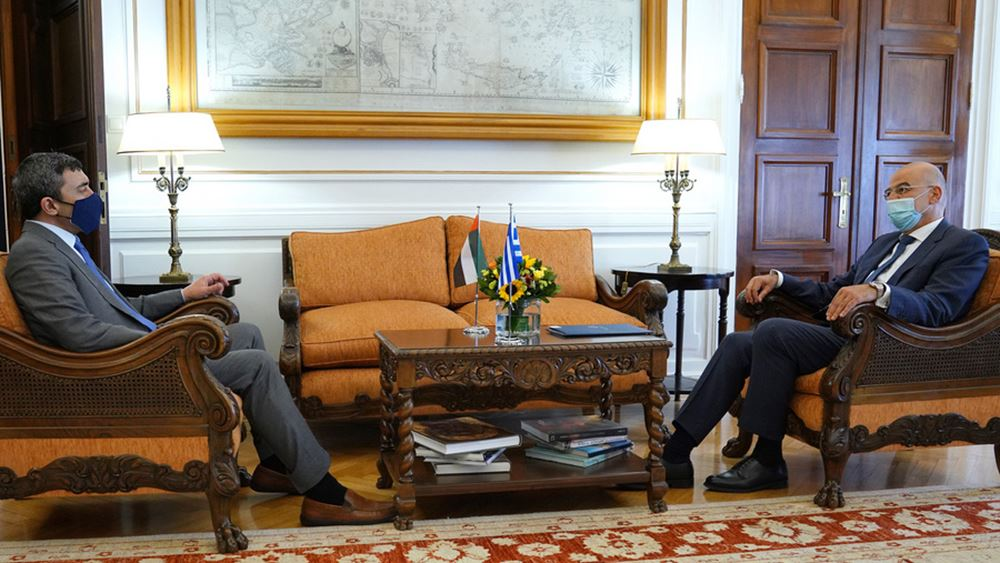 Ν. Δένδιας: Στρατηγικές οι σχέσεις Ελλάδας και Ηνωμένων Αραβικών Εμιράτων
