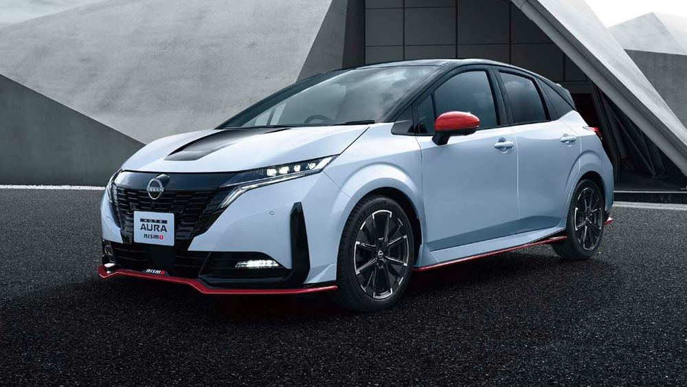 Η Nissan λανσάρει το Note Aura Nismo στην Ιαπωνία