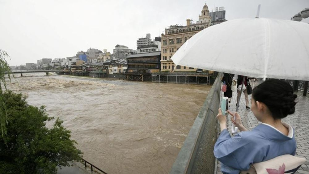 Ιαπωνία: Καταρρακτώδεις βροχές πλήττουν τη νήσο Κιούσου