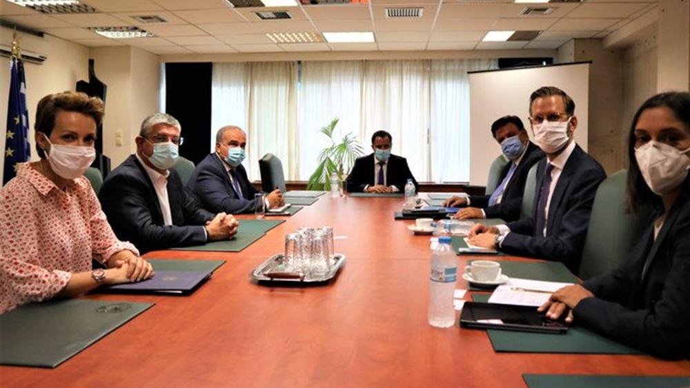 Οι επενδύσεις της RWE στην Ελλάδα θέμα συνάντησης του Αδ. Γεωργιάδη με στελέχη της εταιρείας