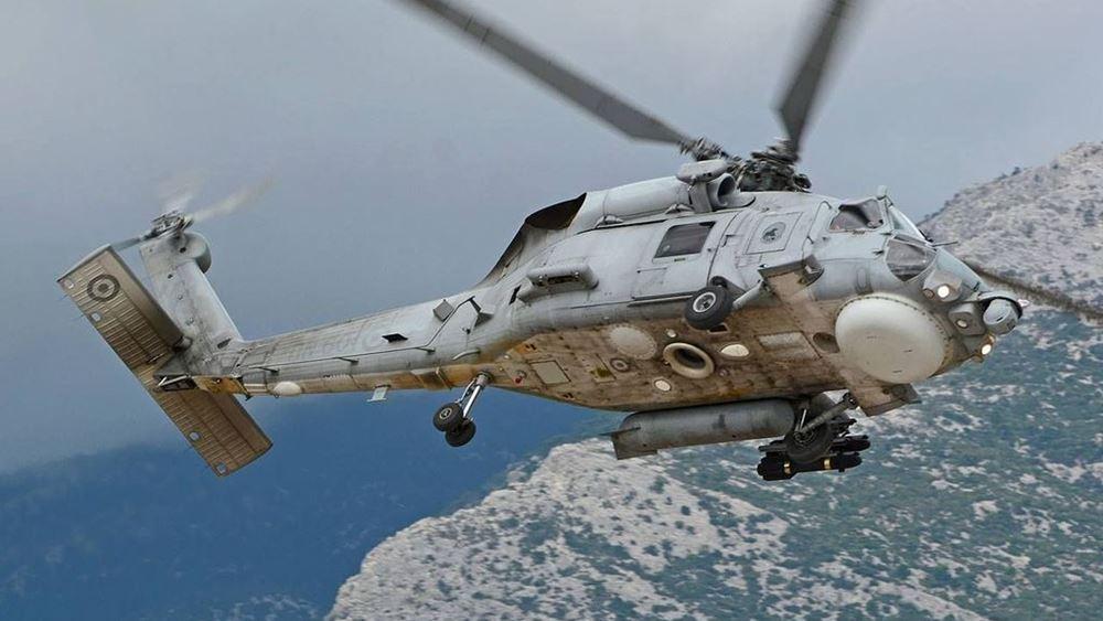 Παραδίδεται στις 6 Μαΐου το πρώτο αναβαθμισμένο ελικόπτερο Aegean Hawk S-70 του Πολεμικού Ναυτικού