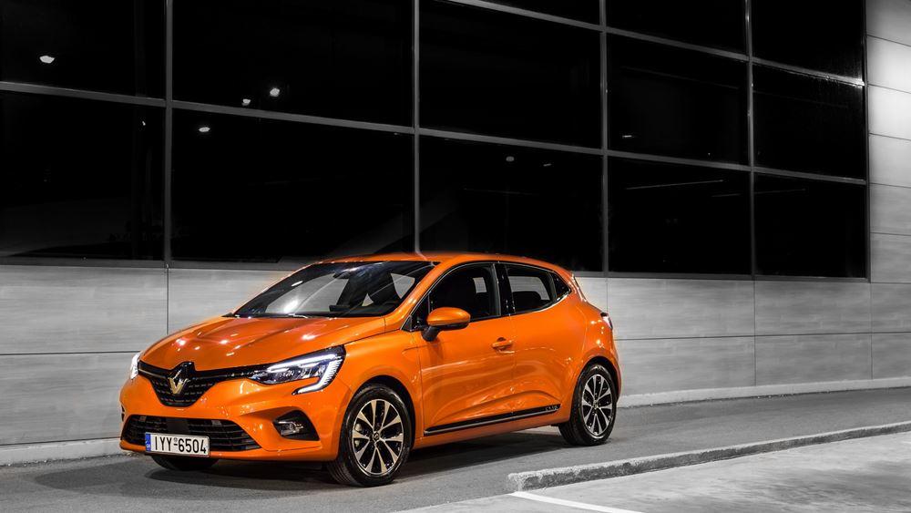 Το νέο  Renault CLIO είναι το πιο εξελιγμένο μοντέλο της κατηγορίας (vid.)