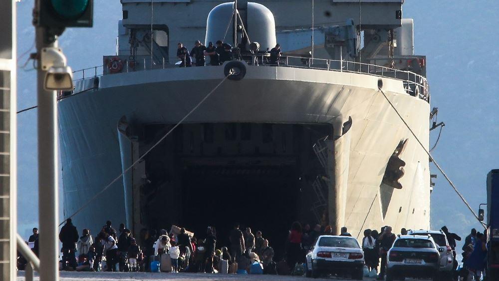 Ακόμα 113 αιτούντες άσυλο μεταφέρονται από την Μόρια στην ενδοχώρα