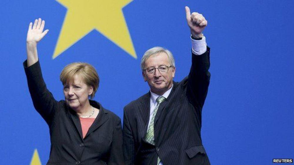 Γερμανικές εκλογές: Ο Γιούνκερ στον δρόμο της Μέρκελ