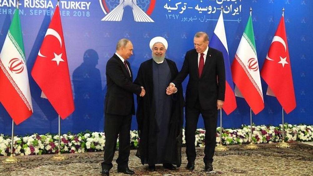 """Οι διεθνείς κυρώσεις """"έπλασαν"""" νέο μέτωπο: Ρωσία, Τουρκία, Ιράν και Ιράκ κόντρα στο σύστημα SWIFT"""