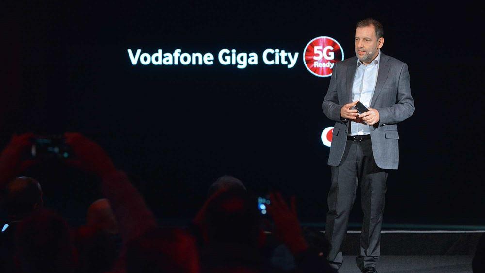 Από το 2021 έρχεται το δίκτυο 5G της Vodafone