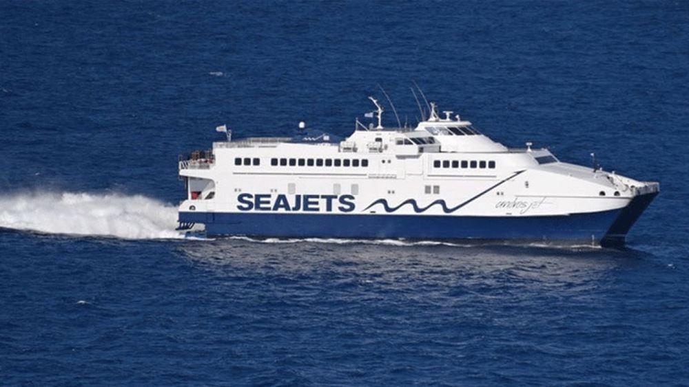 Συνεχίζει και αύριο τα δρομολόγια Αλεξανδρούπολη-Σαμοθράκη η SEAJETS
