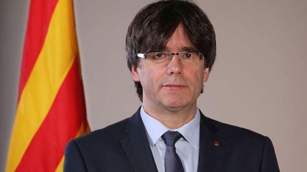 """Ισπανία: Δίωξη σε βάρος του Πουτζντεμόν για """"εξέγερση"""""""