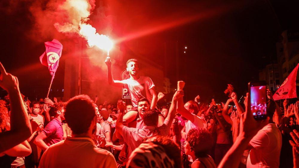 Διεθνείς αντιδράσεις στις ραγδαίες εξελίξεις που βιώνει η Τυνησία