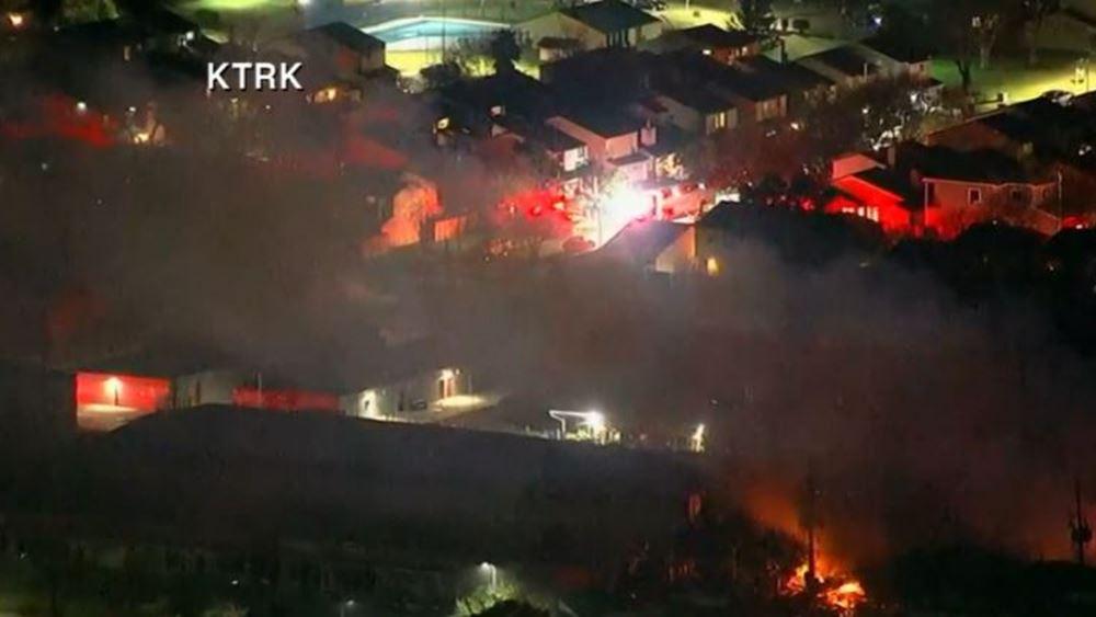 Τέξας: Ισχυρή έκρηξη και κατάρρευση κτηρίου στο Χιούστον