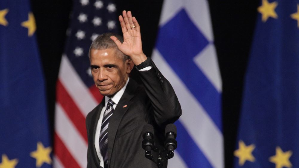 ΗΠΑ: 120.00 δολάρια πουλήθηκε η φανέλα με την οποία έπαιζε μπάσκετ στο γυμνάσιο ο Ομπάμα