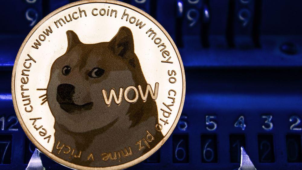 "Dogecoin: Κέρδη 40% και νέο ρεκόρ - ""Άλμα"" άνω του 14.000% από την αρχή του έτους"