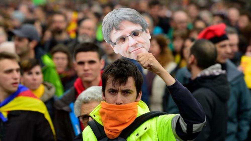 """Η Ισπανία """"δεν σέβεται πλέον το κράτος δικαίου"""" της Ευρωπαϊκής Ένωσης, λέει ο Πουτζδεμόν"""